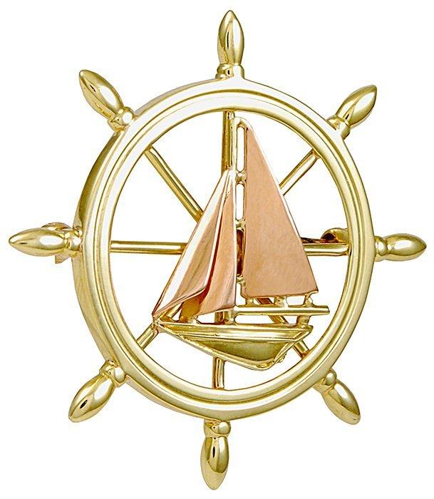 Tiffany& Co. Sail Boat Pin