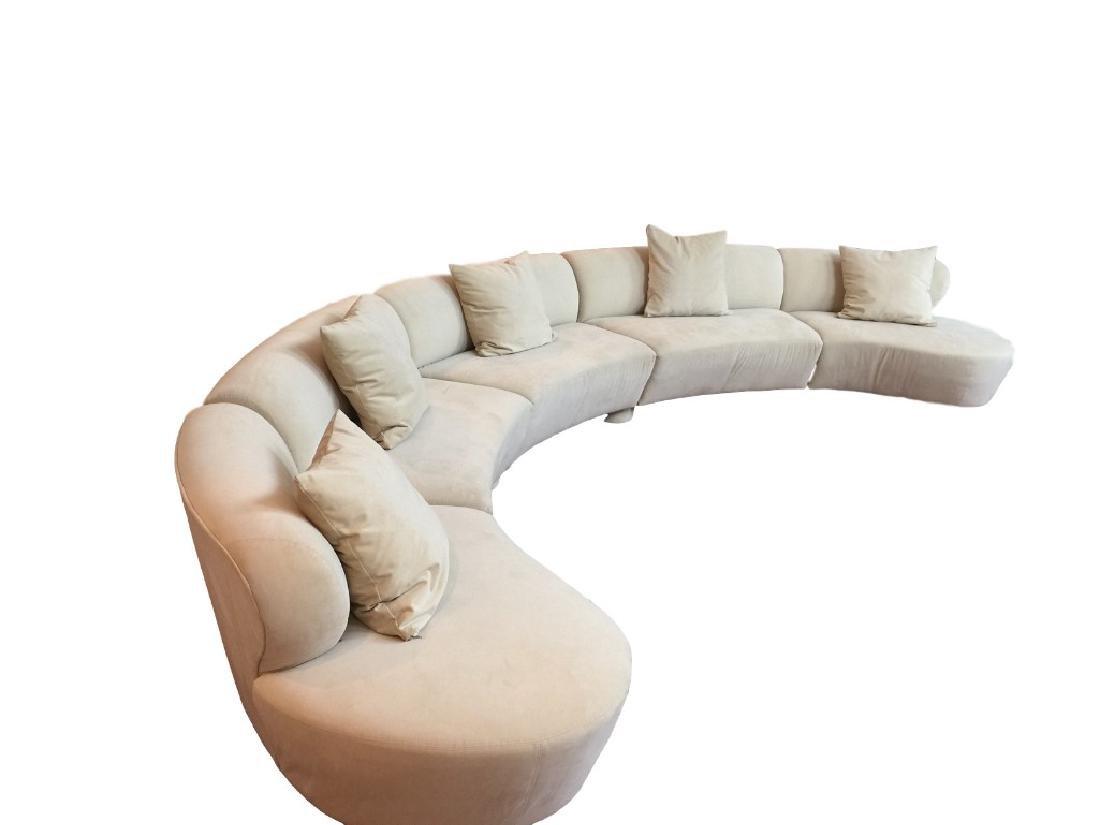 """Vladimir Kagan, """"Cloud"""" 5 Piece Sectional Sofa"""