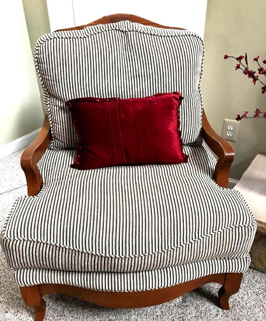 Luxurious custom country french arm chair