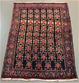 46 x 67 Persian Hamadan genuine handmade wool rug