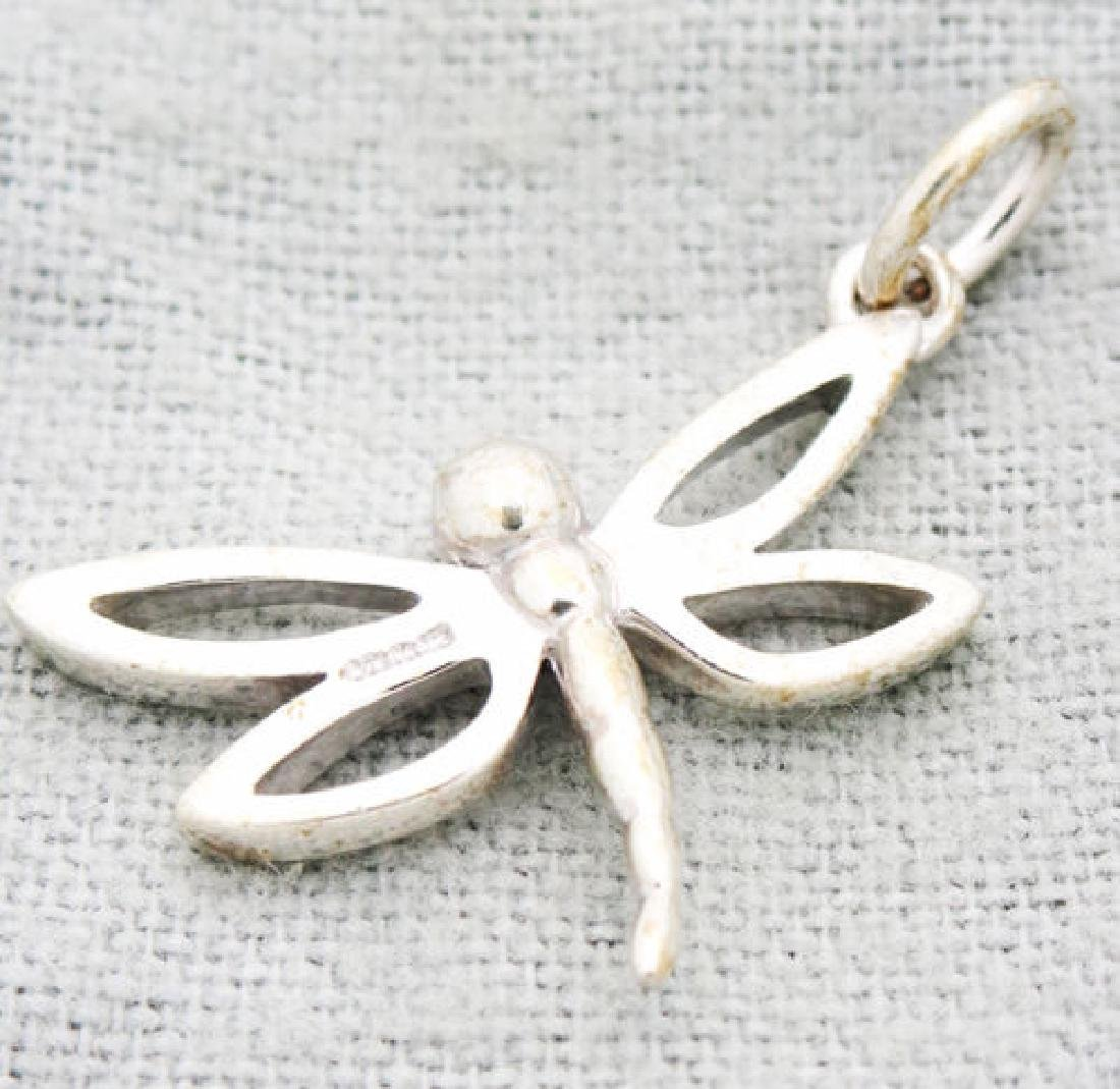 Tiffany & Co. Sterling Silver Dragonfly Pendant Charm