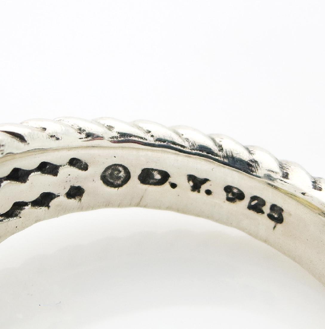 David Yurman Petite Wheaton Ring Citrine & Diamonds - 4