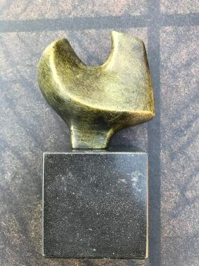 MAX ERNST BRONZE ABSTRACT SCULPTURE