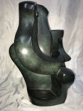 JACQUES LIPCHITZ RARE HUGE BRONZE SCULPTURE
