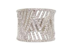 White Gold 0.75 tcw Diamonds Ring Size 7