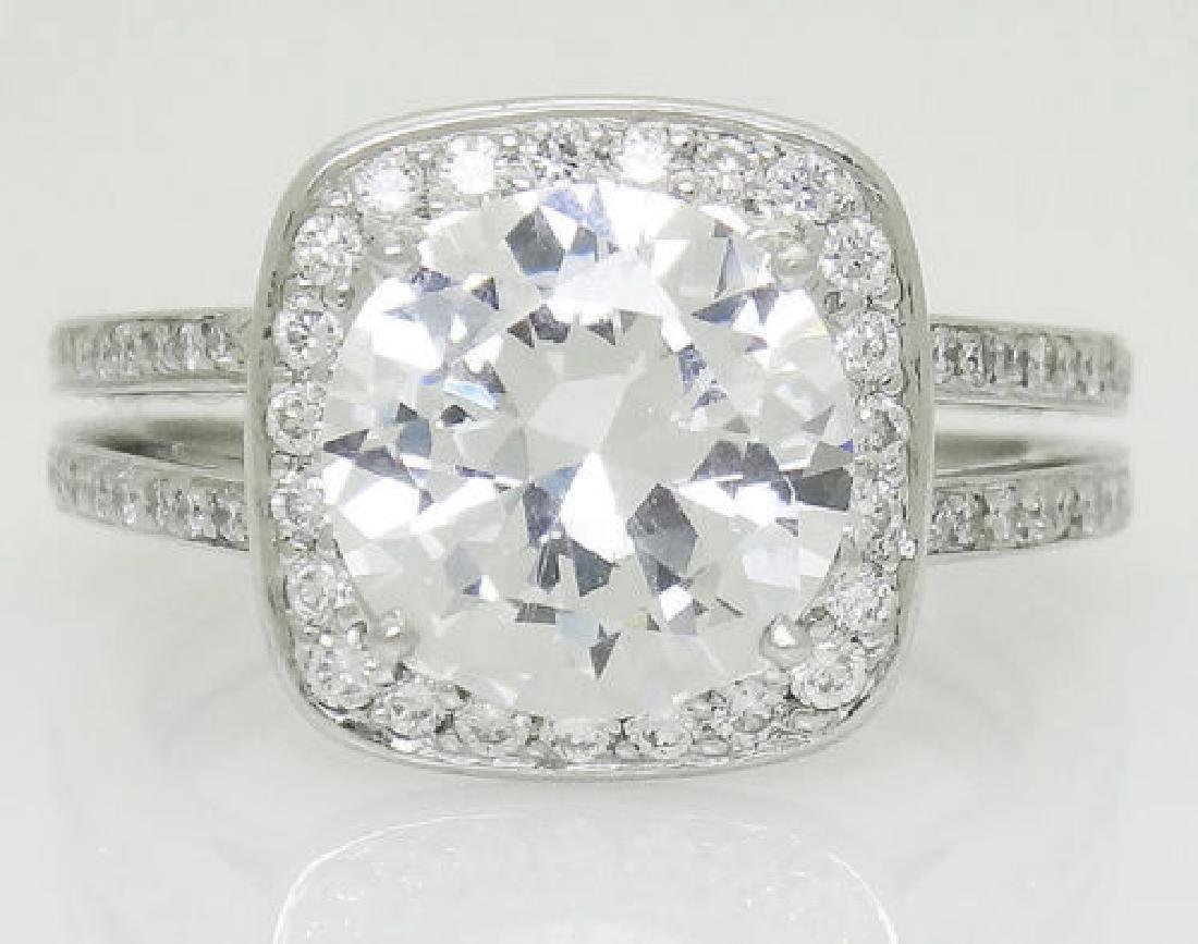 Ivanka Trump Platinum 950 0.83 TCW VS1 F Diamond