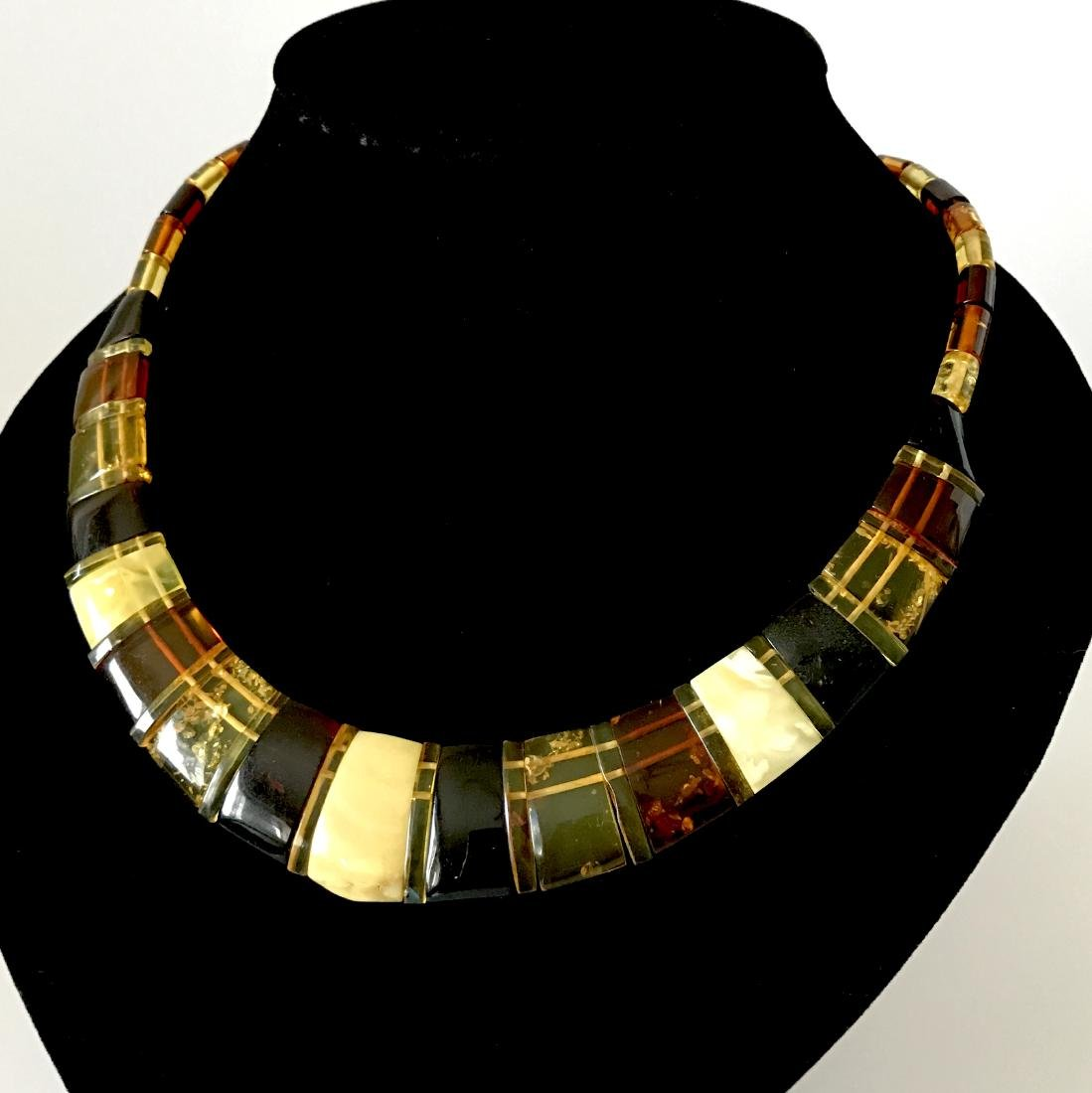 Baltic Amber Necklace Mix Colors (White, Lemon Cherry, - 2