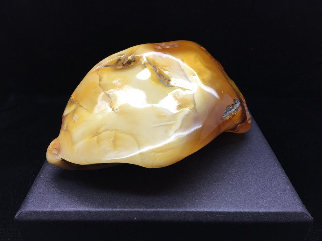 Baltic AmberStone Milky WhiteColour