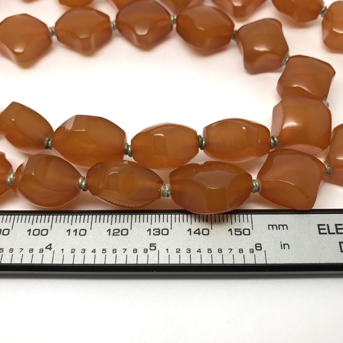 Old Baltic Amber Vintage Necklace Butterscotch Cognac - 6