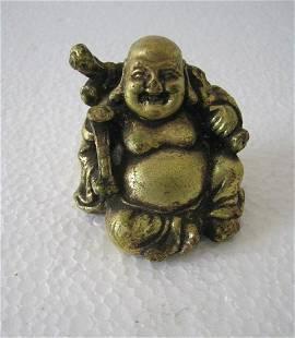Bronze Chinese Buddha Gilt Statue