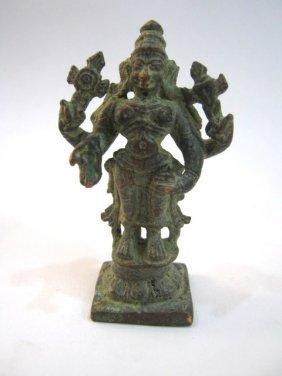 ANTIQUE INDIAN GOD DEITY / STATUE