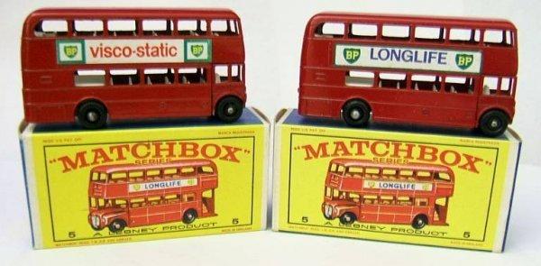 5: 5D London Bus x 2