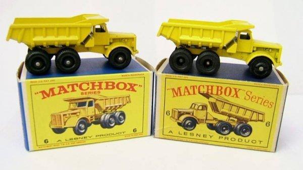 6: 6C Euclid Quarry Truck x 2