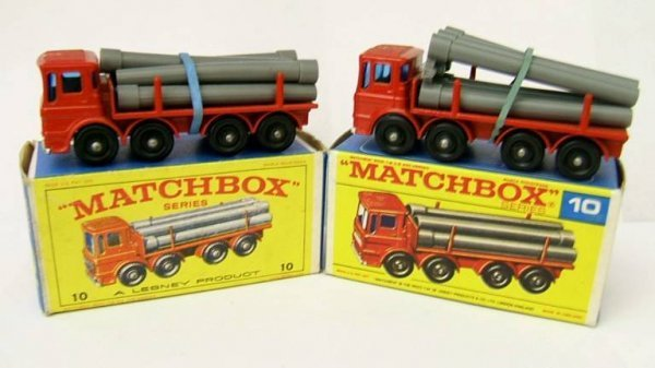12: 10D Pipe Truck x 2