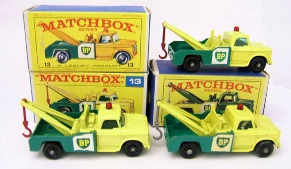 15: 13D Dodge Wreck Truck x 3