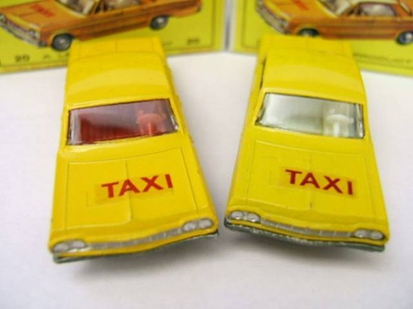 24: 20C Chevrolet Taxi x 2