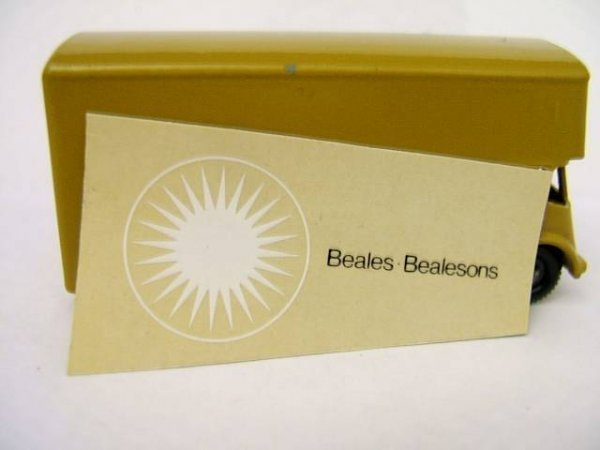 494: 46B Pickfords Van Bealson PLAIN BODY