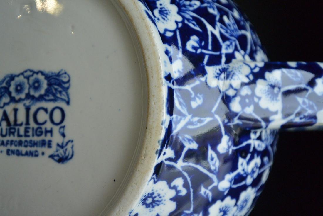 Qing Dynasty England blue and white Clarke plum tea pot - 10