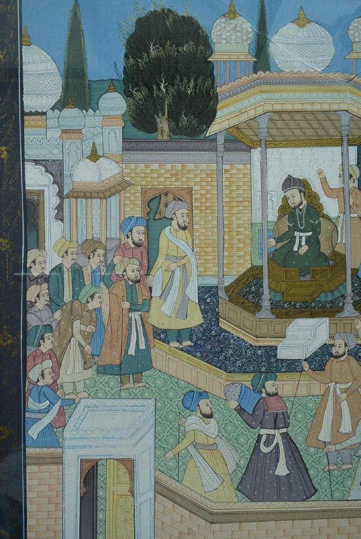 Ancient Persian national culture style painting - 2