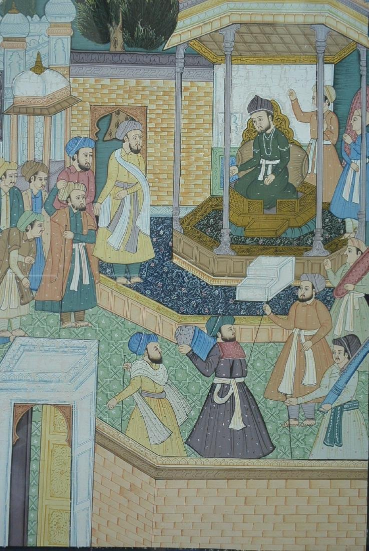 Ancient Persian national culture style painting - 3