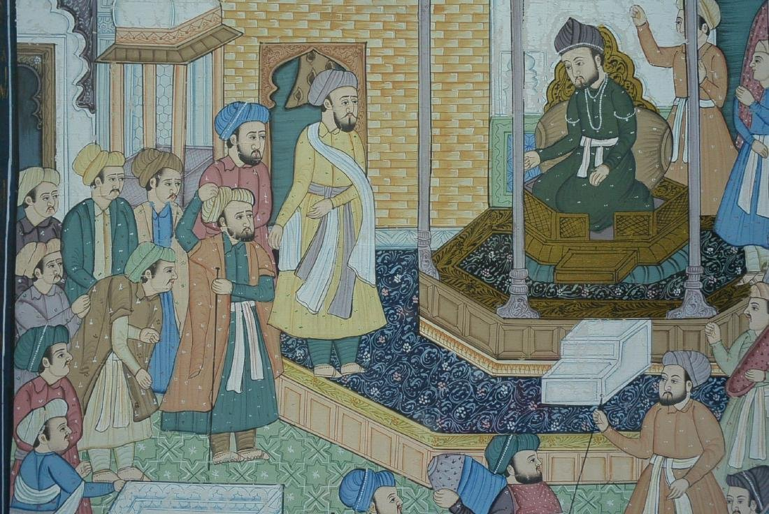 Ancient Persian national culture style painting - 4
