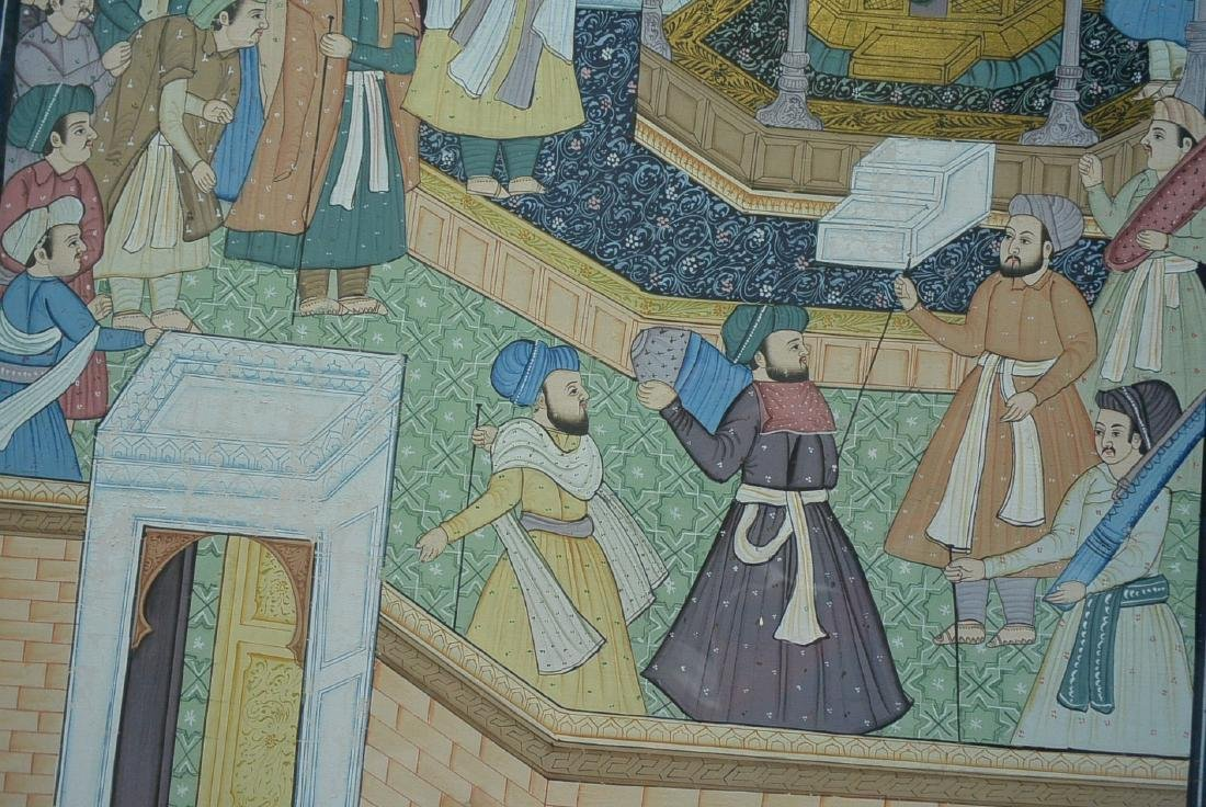 Ancient Persian national culture style painting - 5