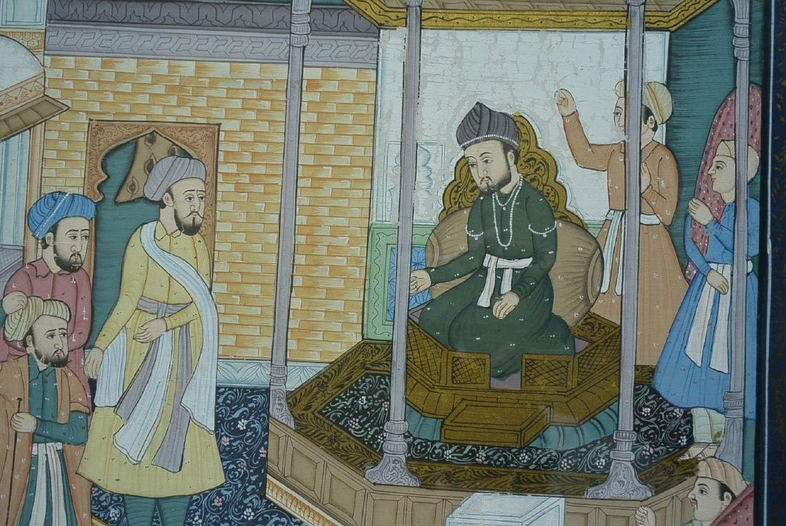 Ancient Persian national culture style painting - 6