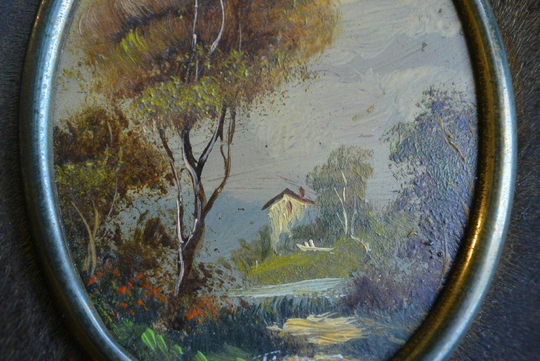 Old-fashioned European and American rural scenery small - 7