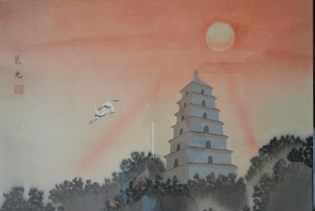 Xiao Meng, Chinese Painting - 2