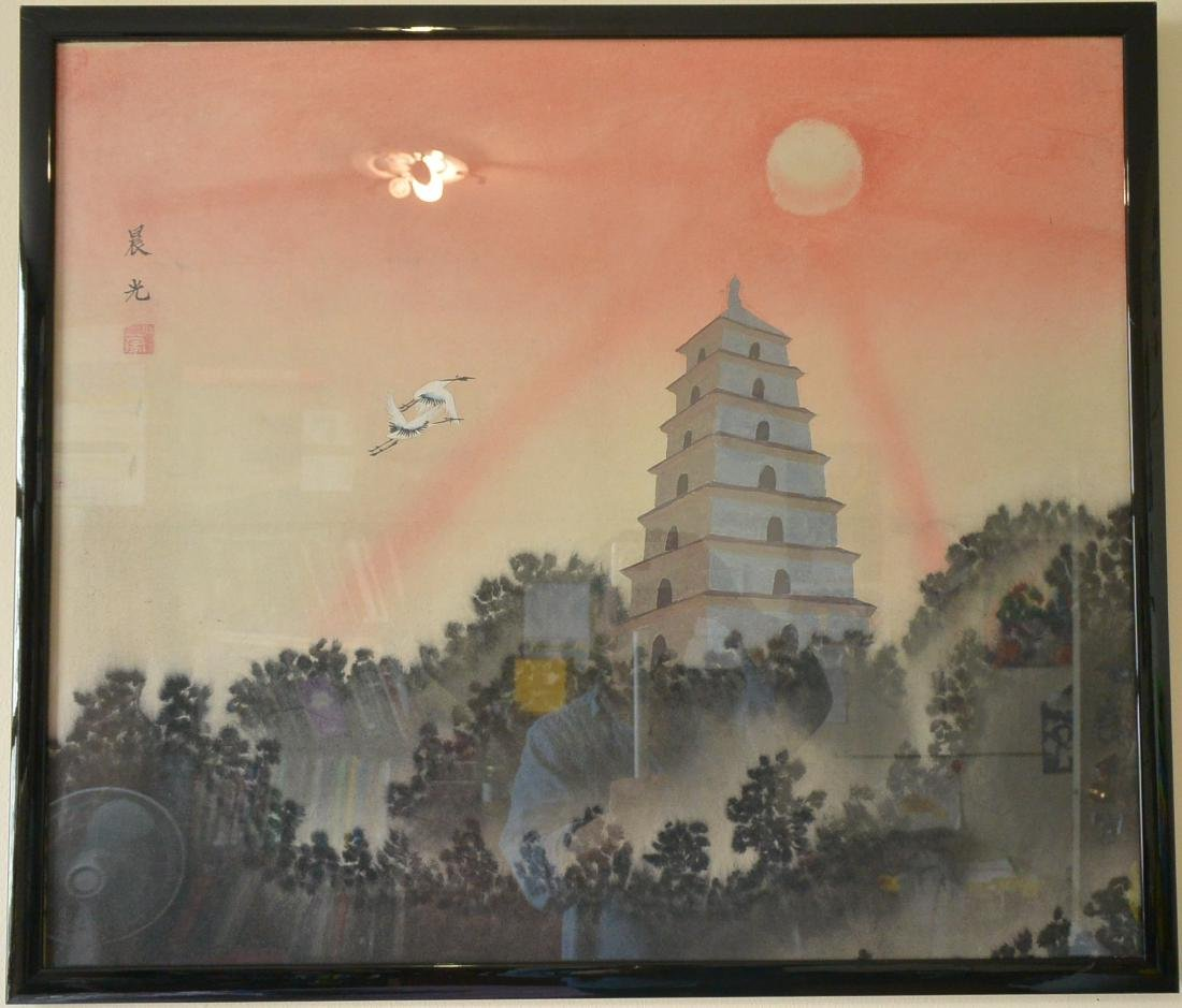 Xiao Meng, Chinese Painting - 8