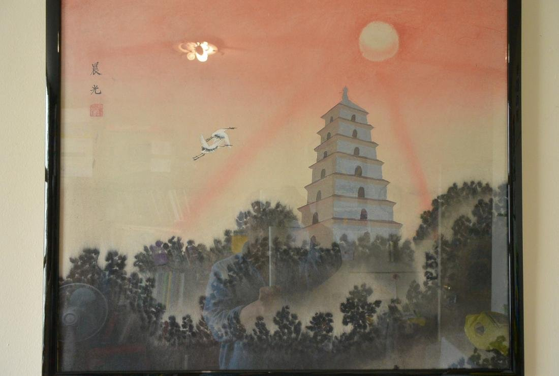 Xiao Meng, Chinese Painting - 9