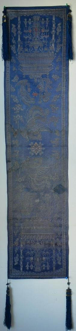 A fine and very rare Chinese Kesi Embroidery
