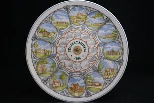 Wedgwood Calendar Plate 1996 Collectors Display