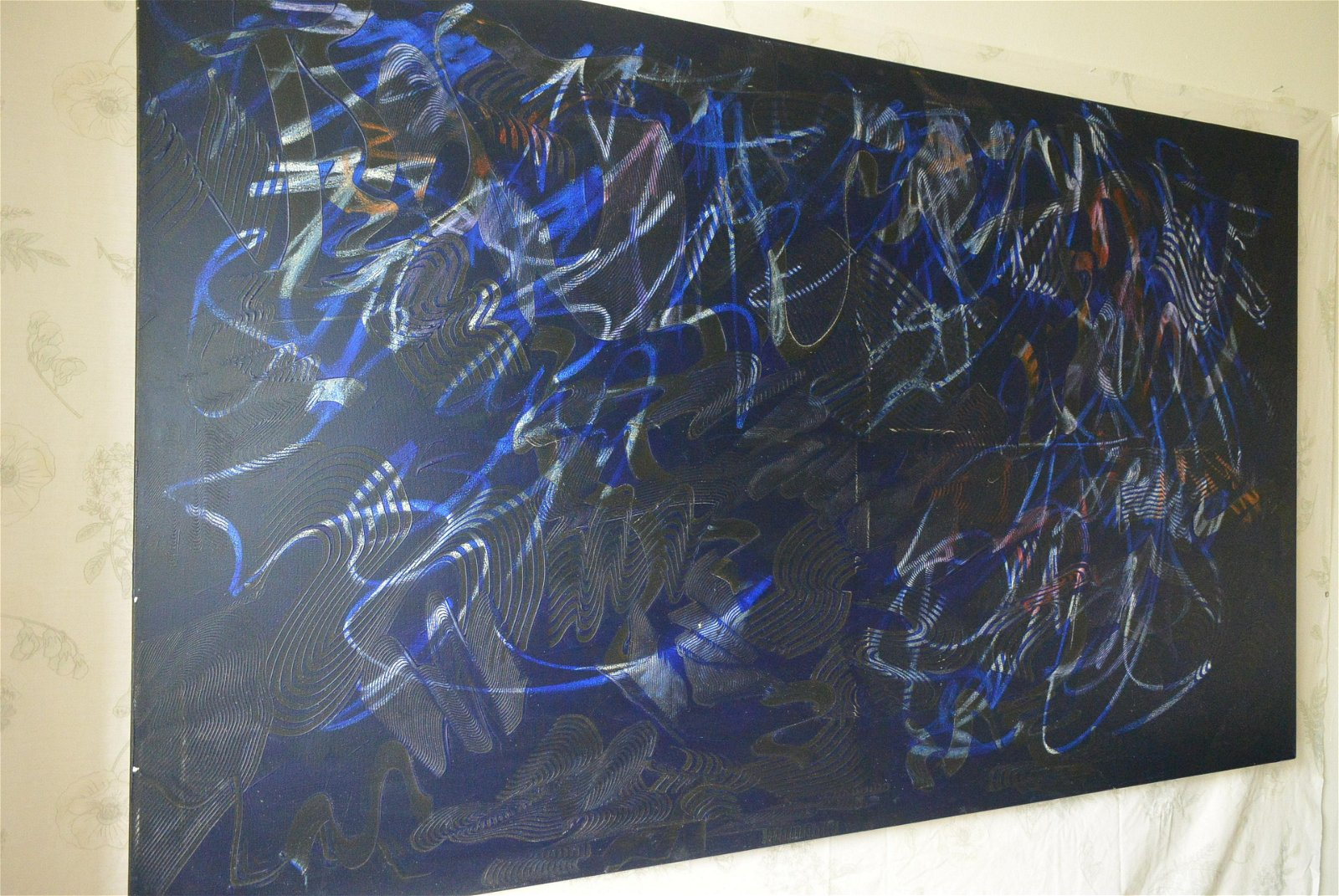 Oil painting abstract painting