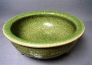 Porcelain, LONGQUAN CELADON-GLAZED CENSER
