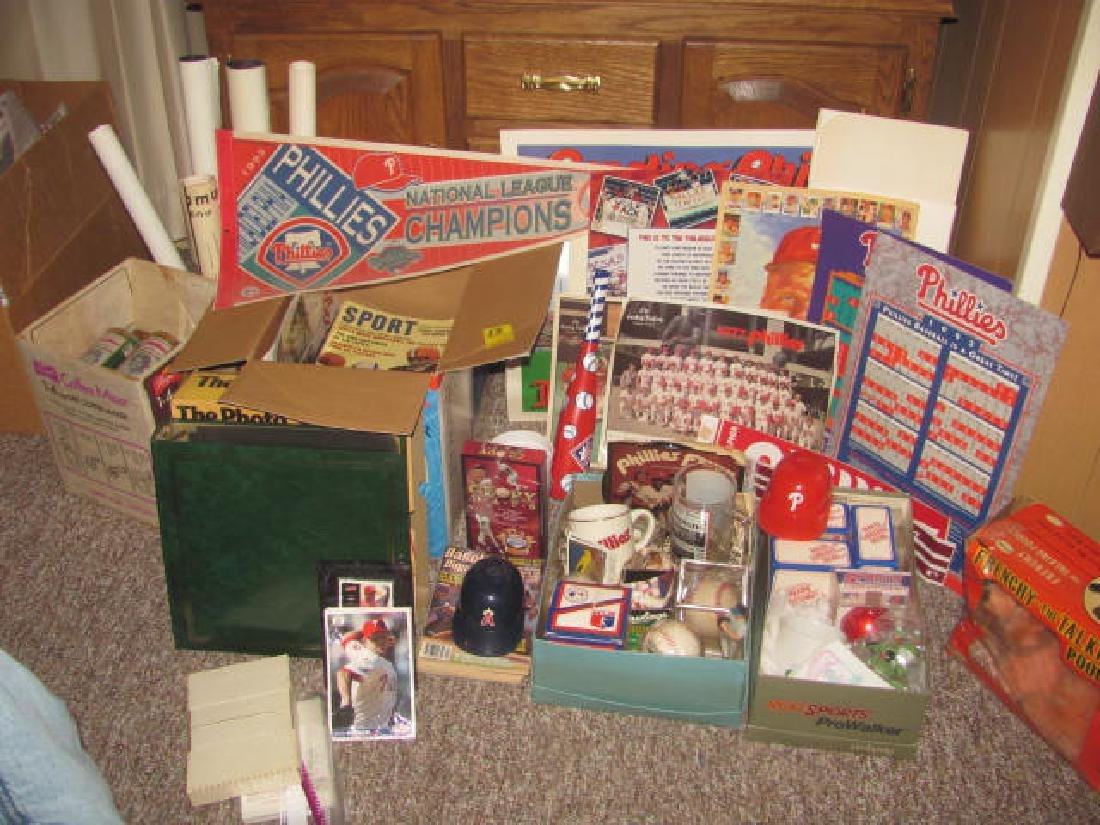 Phillies Baseball Collection