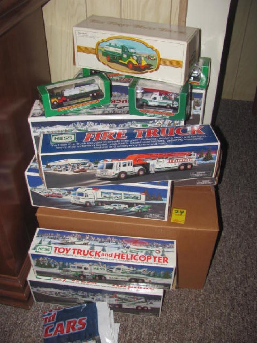 13 Hess Trucks