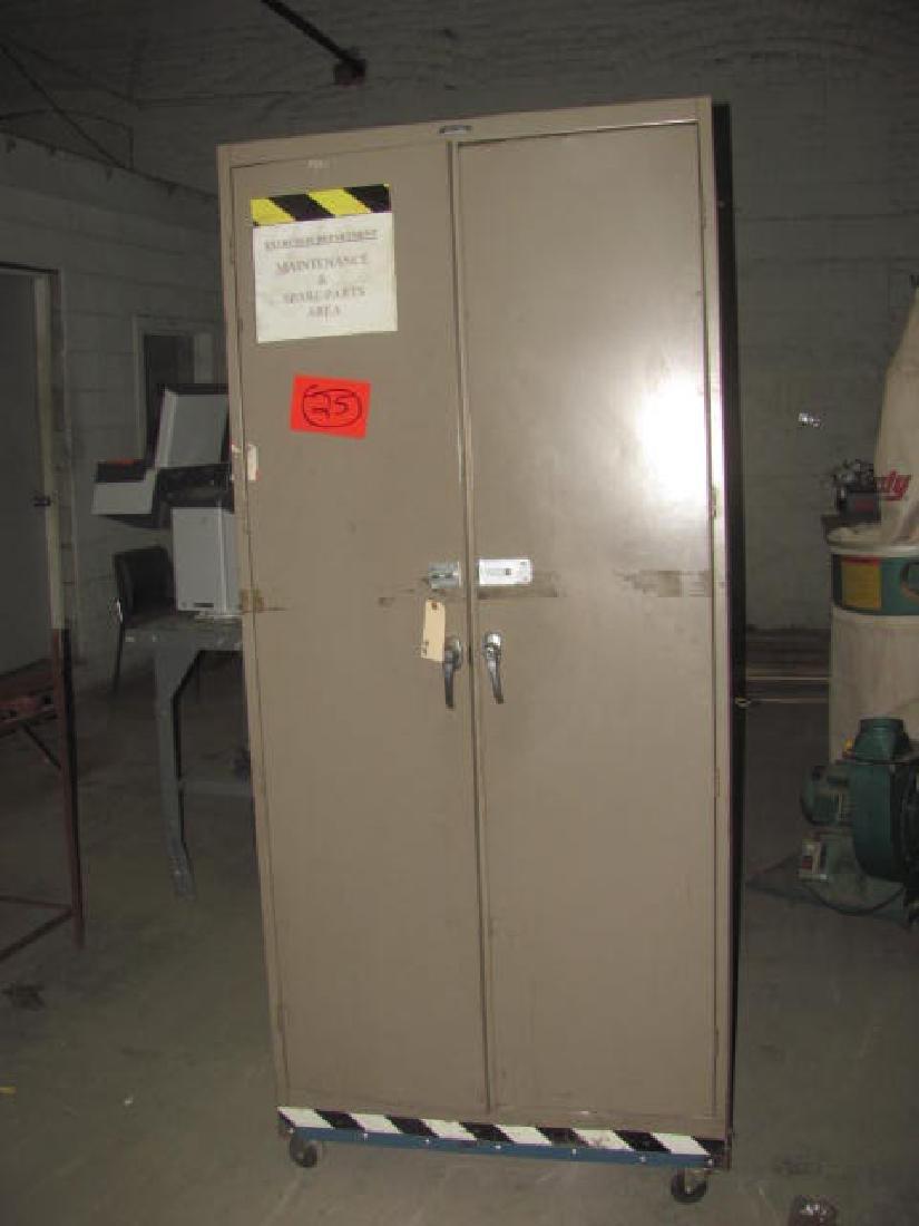 2 Door Parts Cabinet
