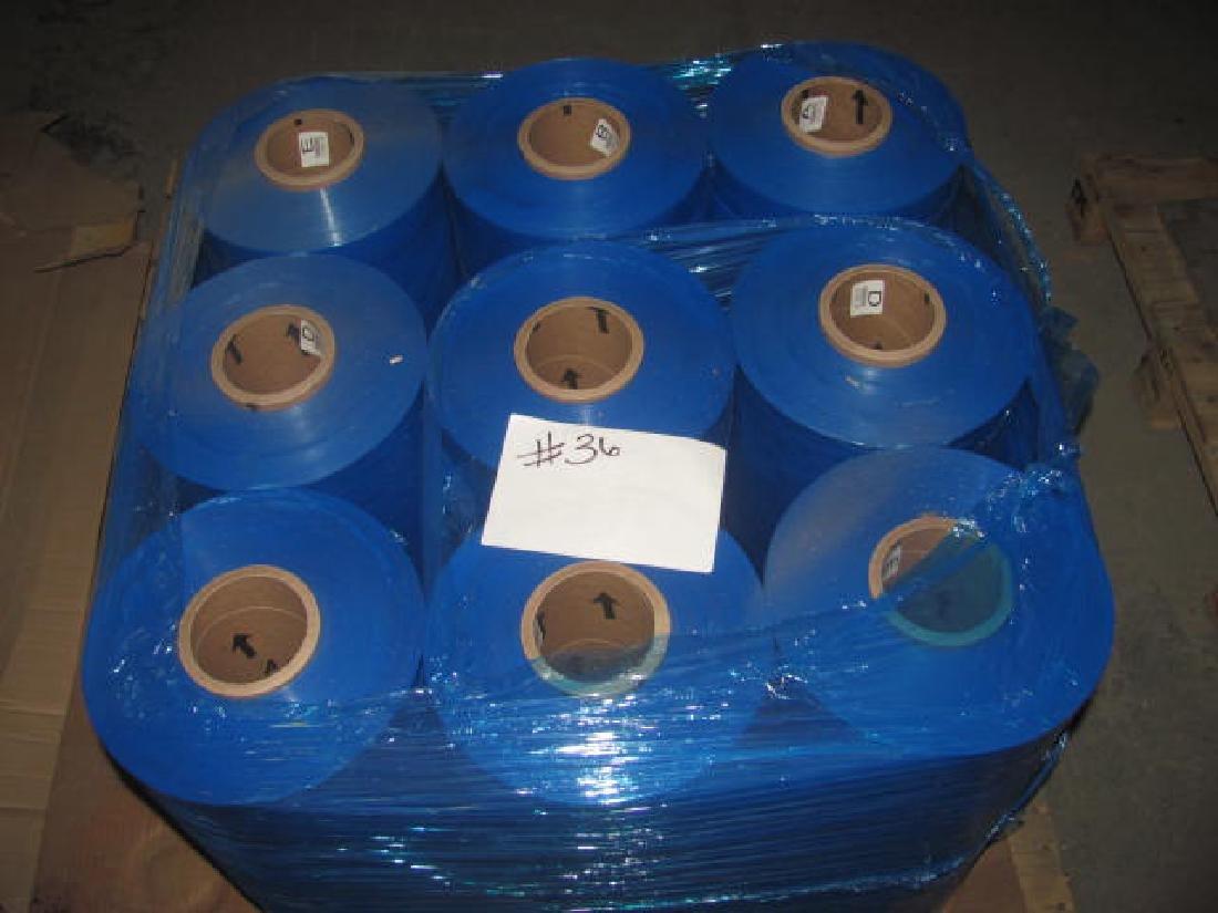 9 Rolls Of Plastic Shrink Wrap
