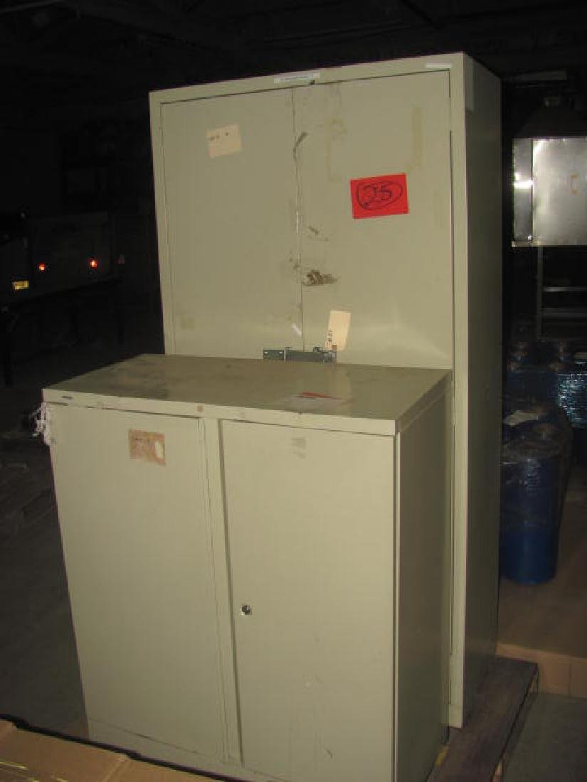2 Parts Cabinets