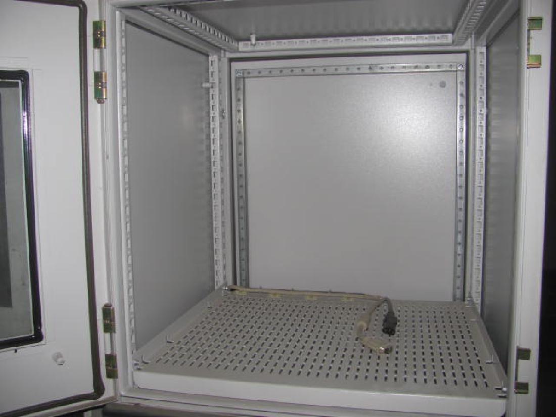 2 Hoffman Schroff Enclosure Cabinets - 2