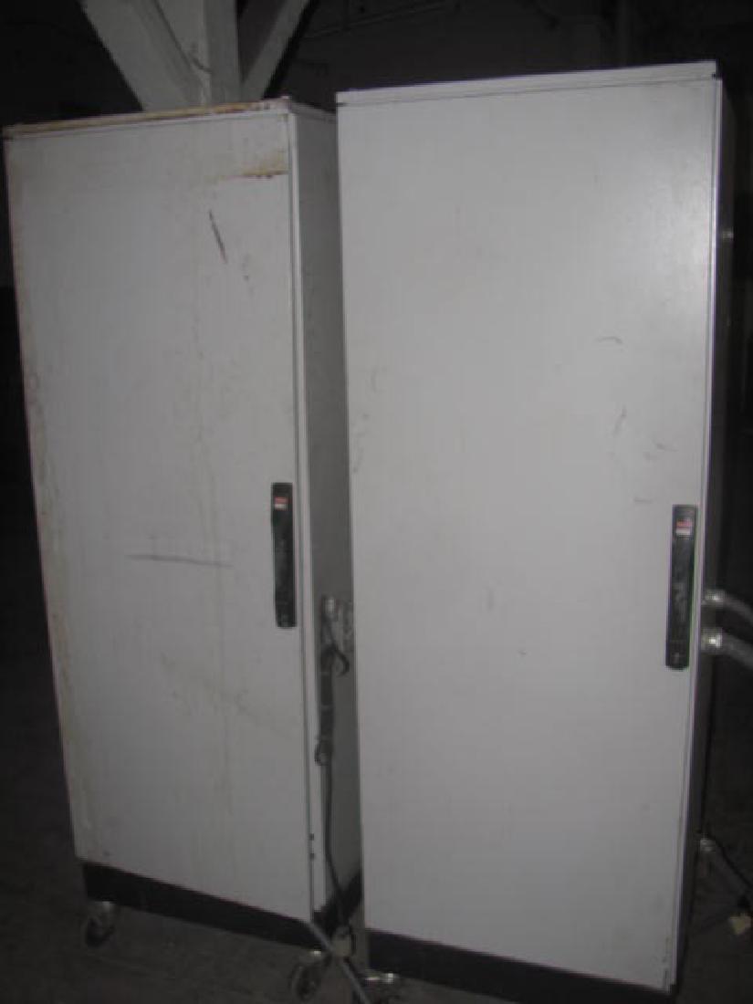 2 Hoffman Schroff Enclosure Cabinets - 4
