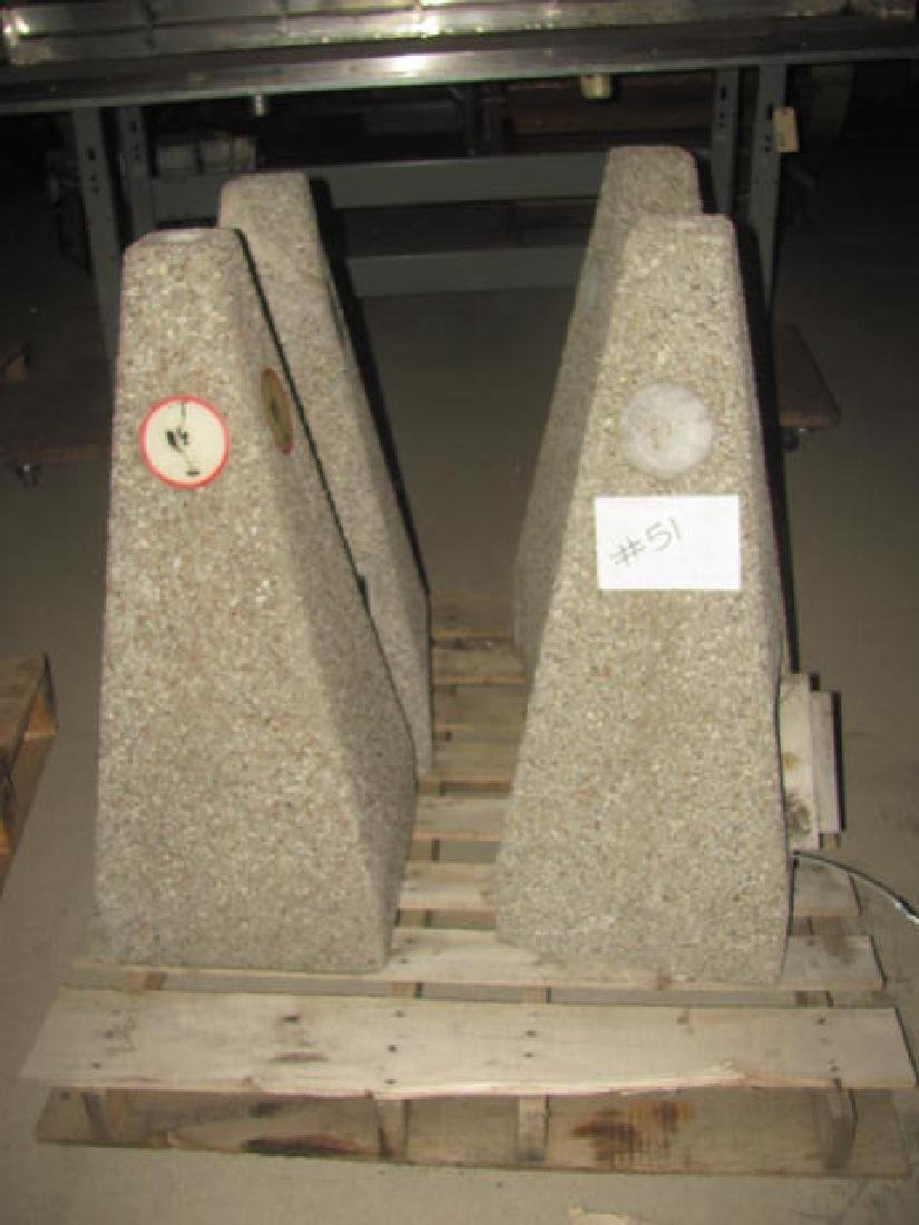 4 Concrete Cigarette Disposals