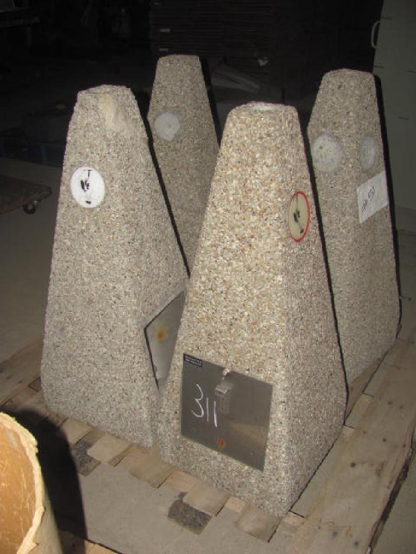 4 Concrete Cigarette Disposals - 2
