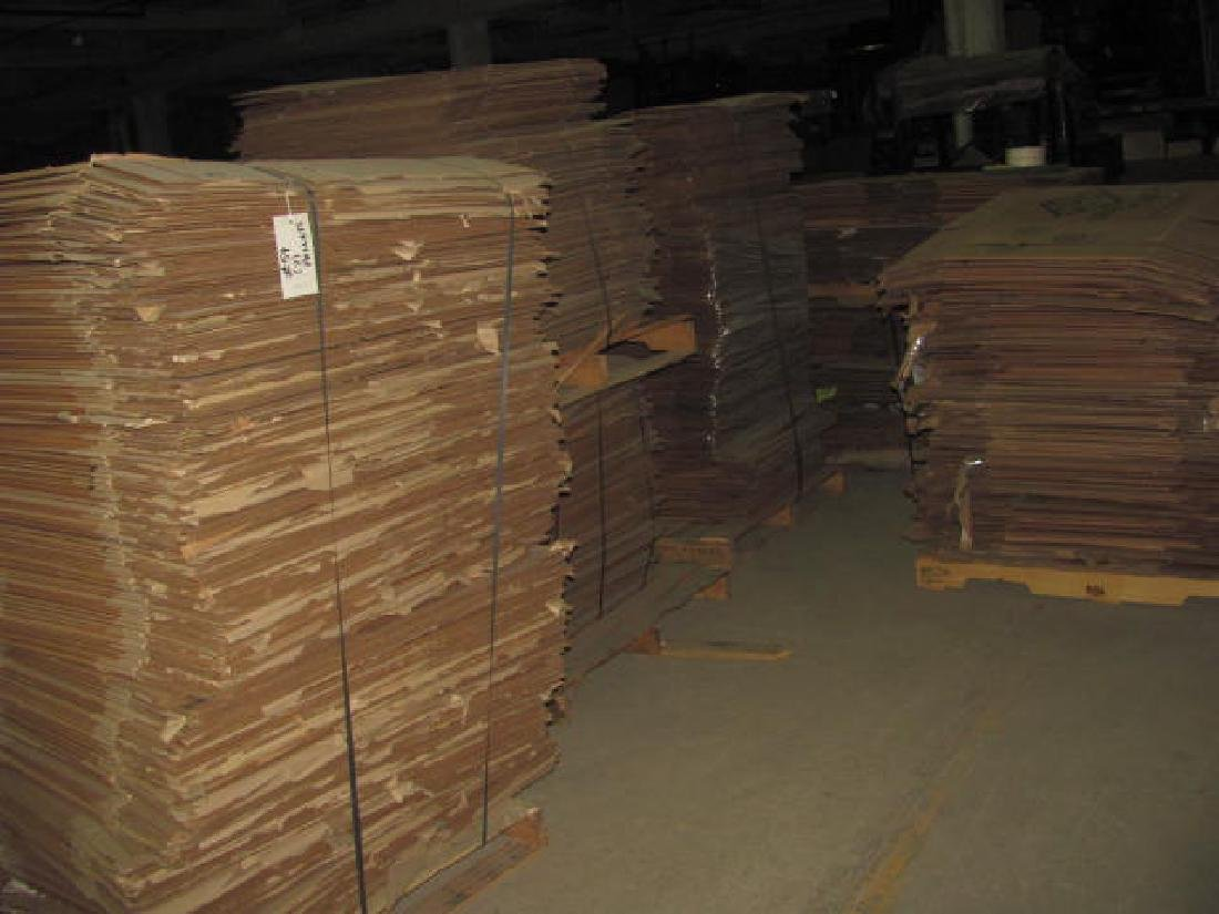 7 Pallets of Cardboard Boxes - 2
