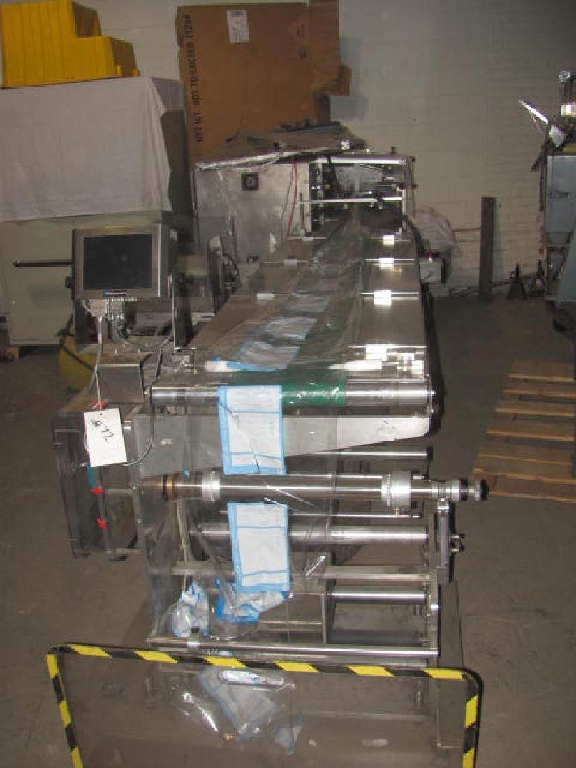 Inverted Wrapping Machine