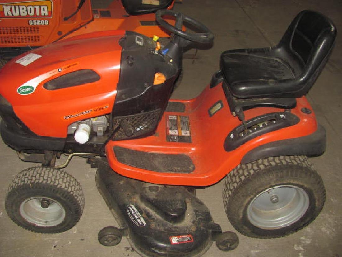 """Scott 20hp 48"""" Garden Tractor - 2"""