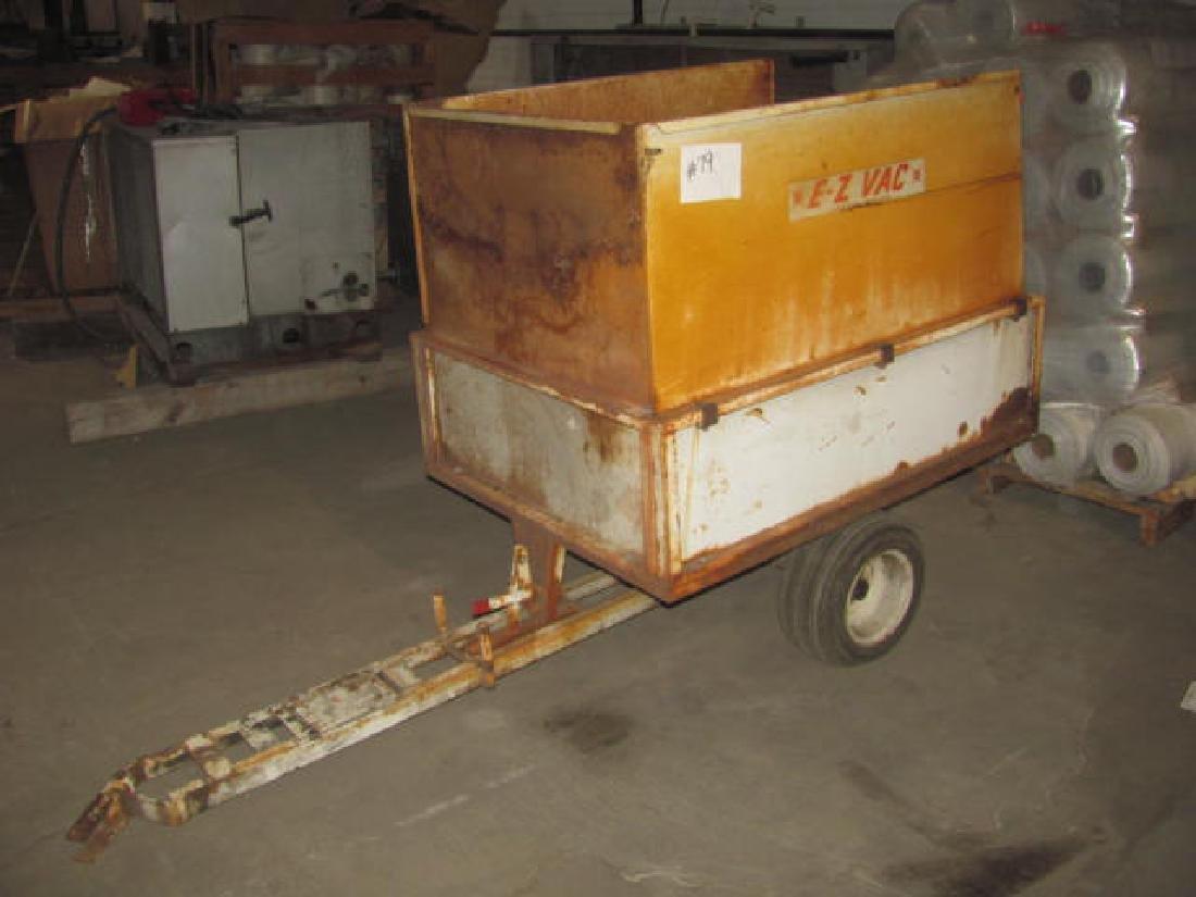 EZ- Vac Garden Cart