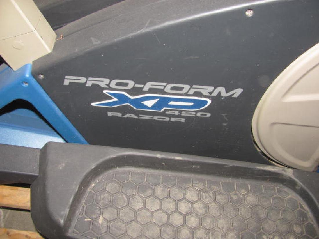 Pro Form XP 420 Racor Stepper - 2