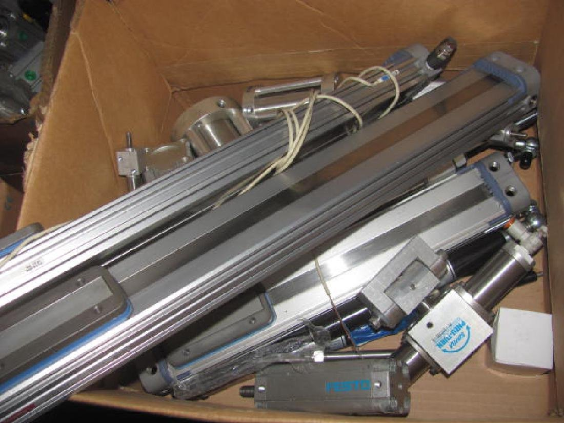 Pnuematic Air Cylinders Gauges Silencers - 8